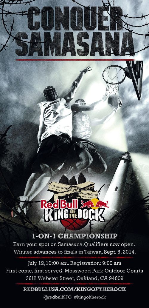 Poster for Red Bull King of the Rock