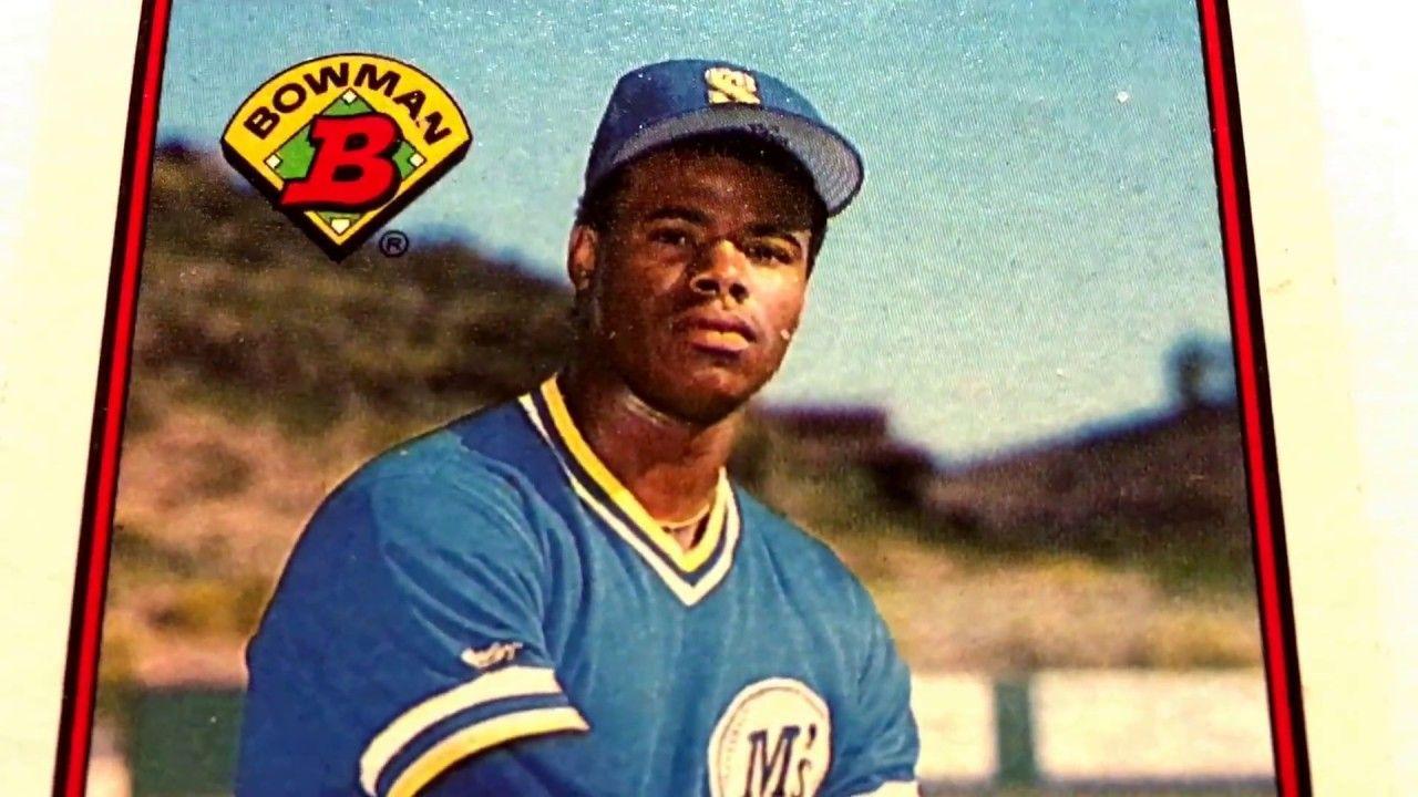 Ken Griffey Jr Seattle Mariners 89 Bowman Baseball Rookie