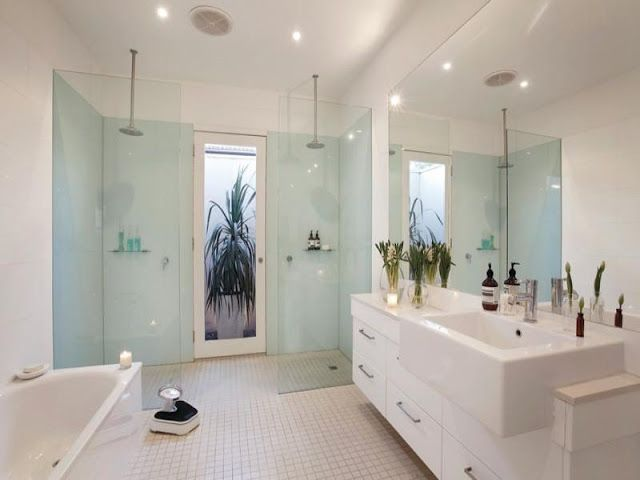 Clean And Simple Bathroom Style  Inside & Decor  Pinterest Stunning Great Bathroom Ideas Review