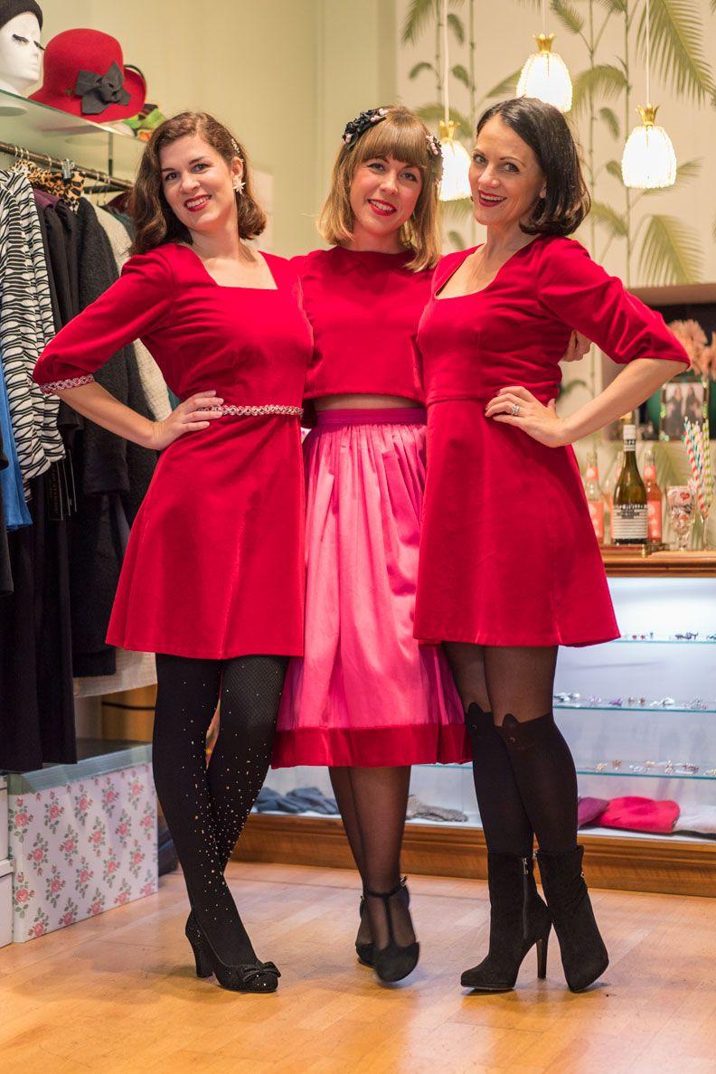 Maison Chi Chi Meets Grunten Mode Farbenfrohe 60er Jahre Mode