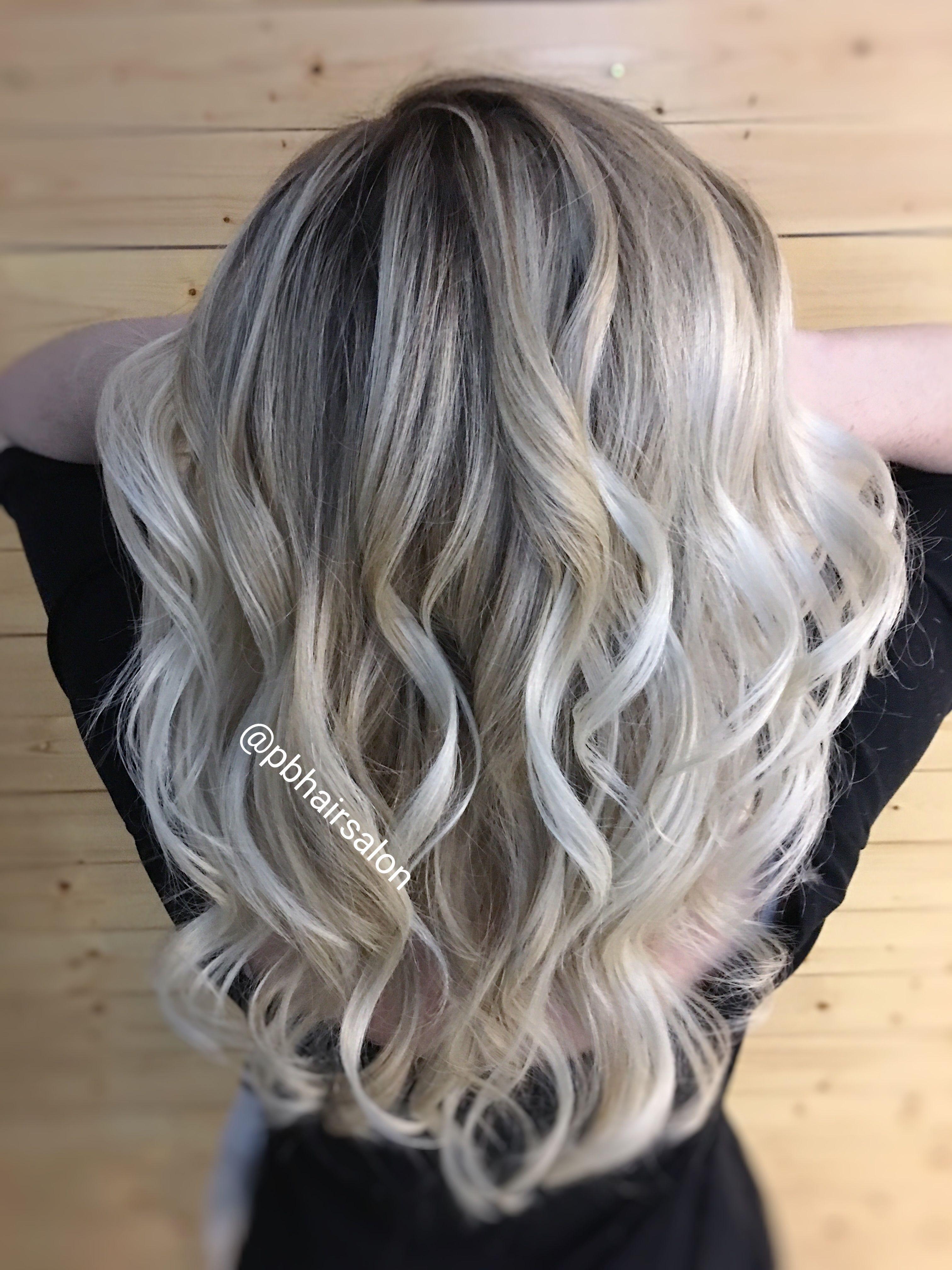 Icy Blonde Hair Balayage Pbhairsalon Icy Blonde Balayage Icy Blonde Hair Balayage