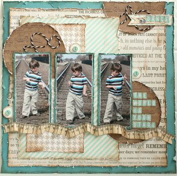 My Creative Scrapbook Kit Club with exclusive sket