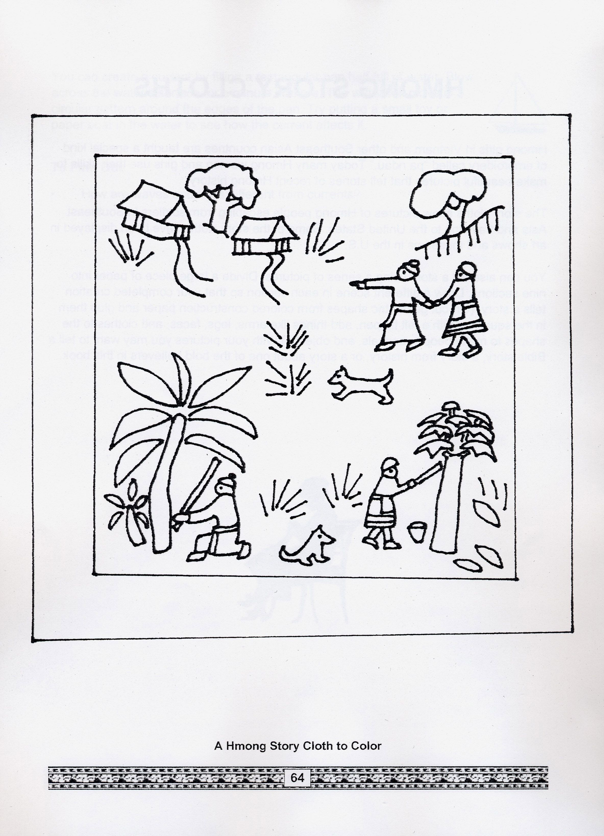 hmong coloring pages for kids - photo#3
