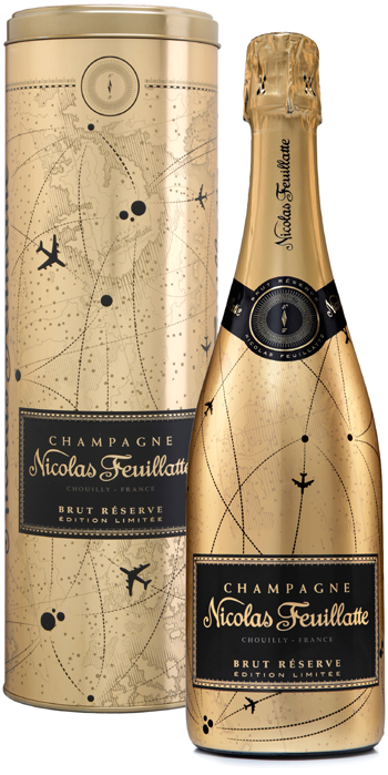 Nicolas Feuillatte Champagne Pd Packaging Champagne Champagne