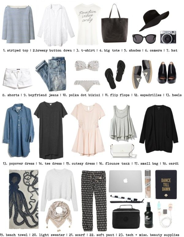What to Pack: 2 Weeks in San Diego — cheers, kait #travel
