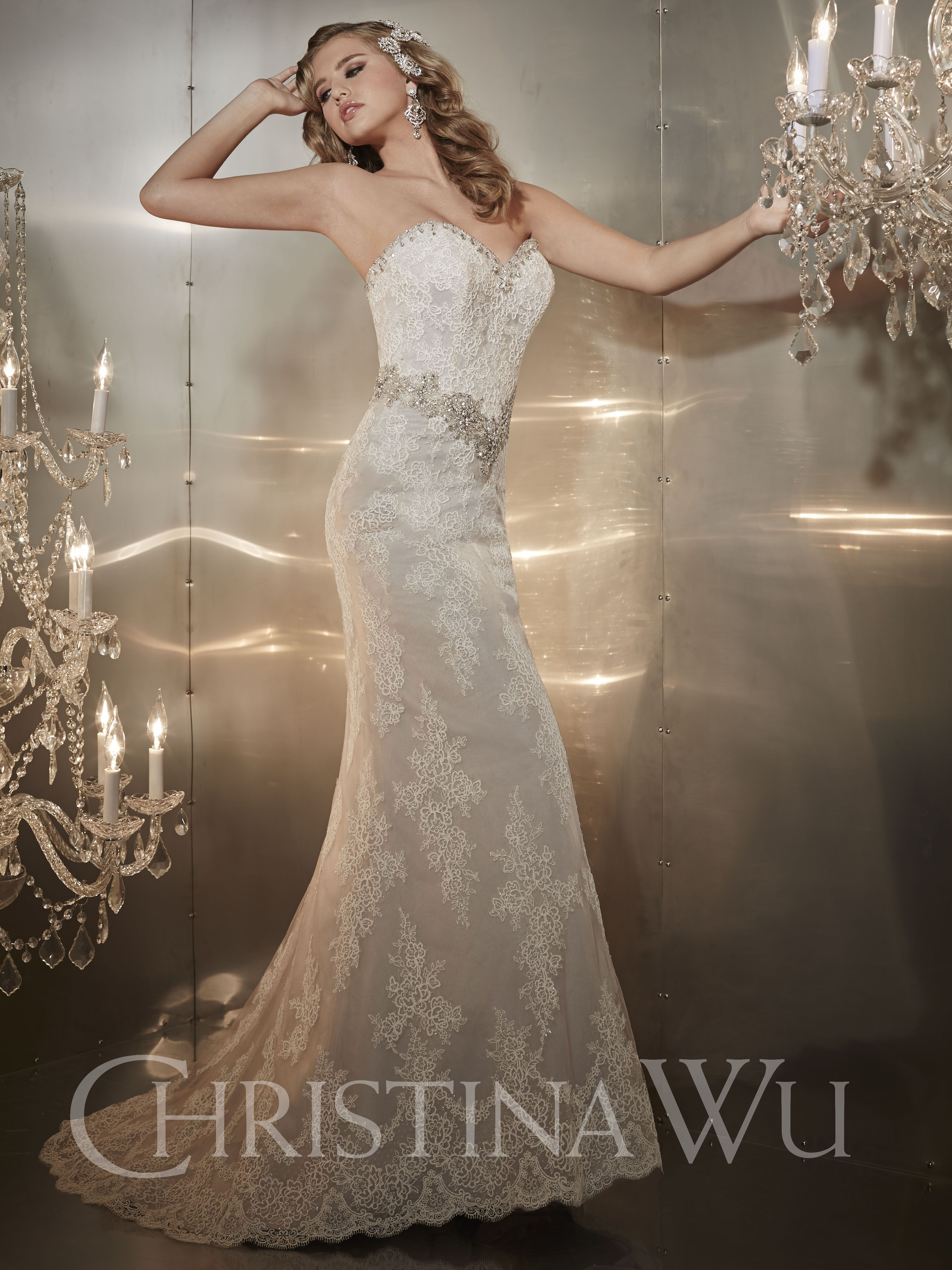 Christina wu fall available at bff bridal boutique