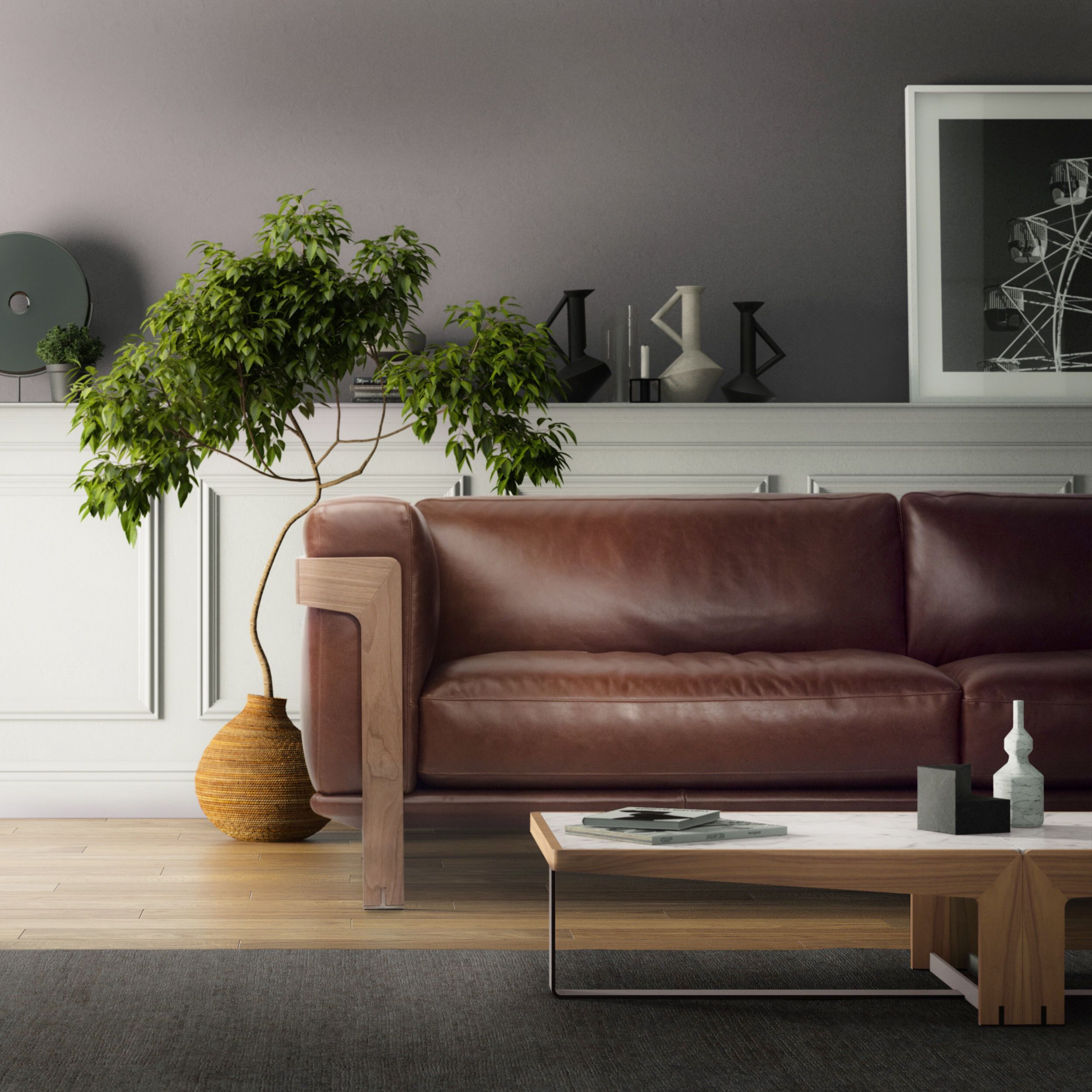 A Sofa Distinguished By Its Fine Materials High Versatility And