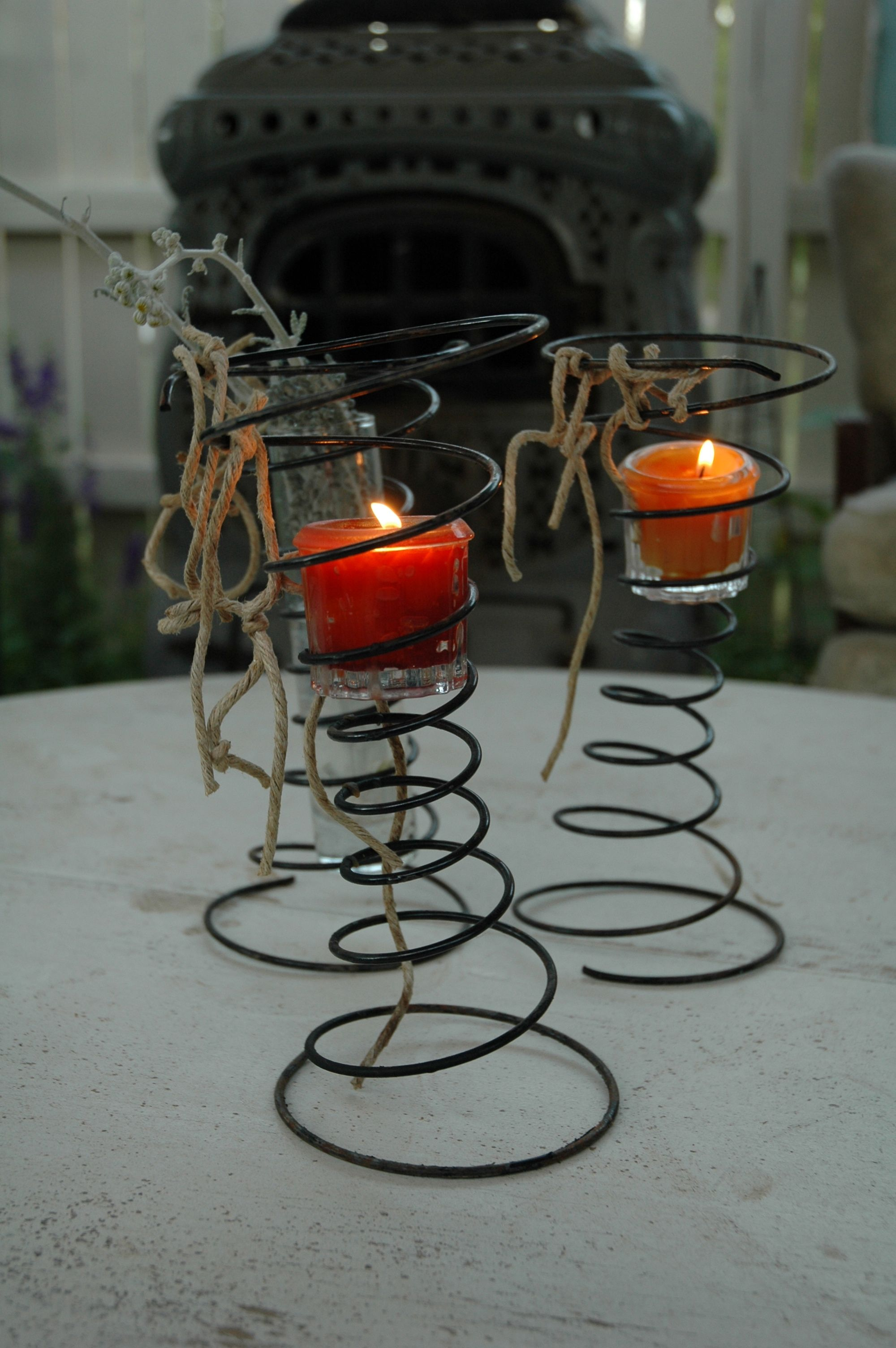 Candle Holders DECORcandles Pinterest DIY Ideas Primitives - Cool diy spring candles and candleholders