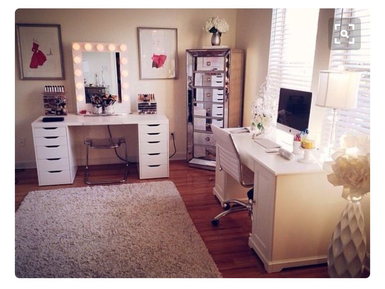 My office and Dressing Room  Room inspiration, Glam room, Room goals