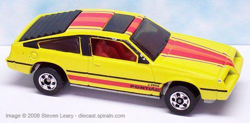 Image From Http Diecast Spiraln Com Pontiac Misc Hw Pontiacj 2000 1983 Jpg Hot Wheels Toys Mattel Hot Wheels Hot Wheels Cars