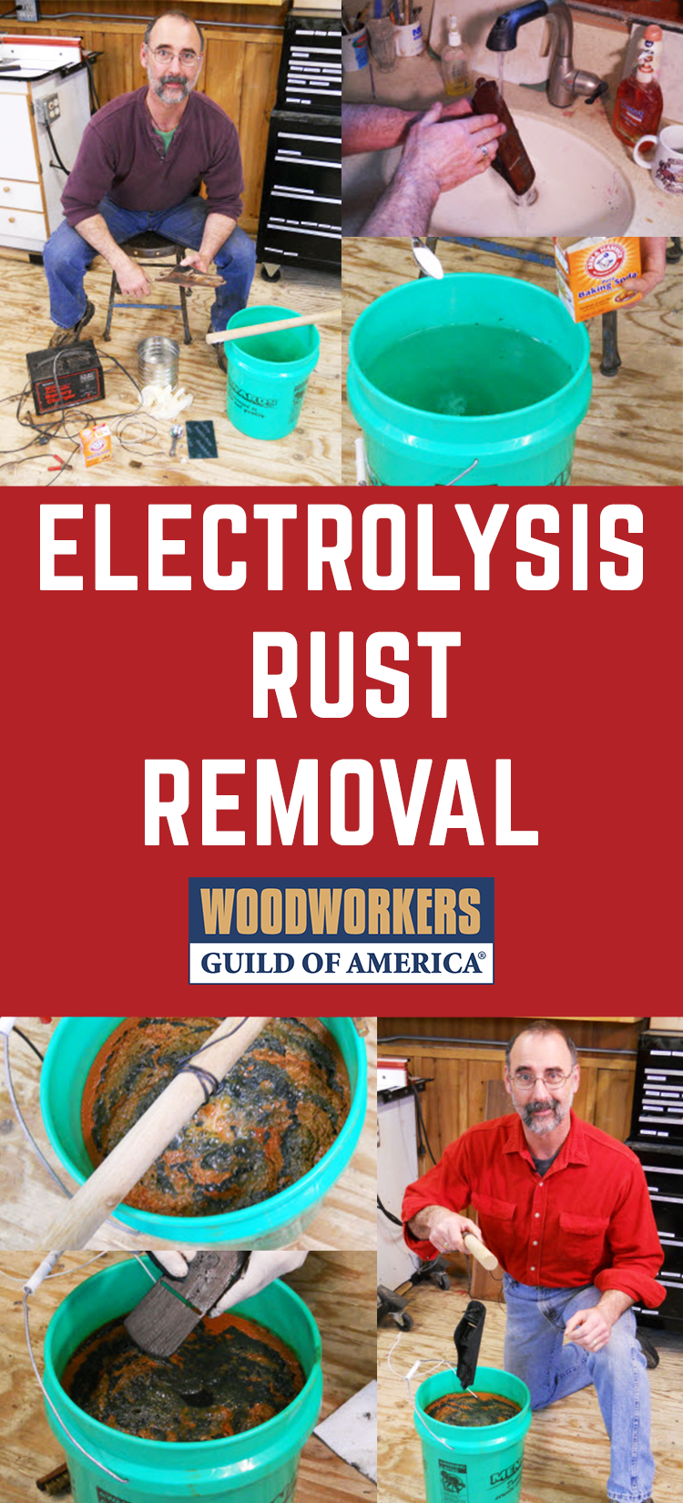 Electrolysis Rust Removal | metals | Pinterest | Remove rust, Rust ...