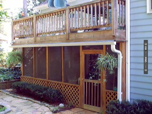 screened porches patio under decks