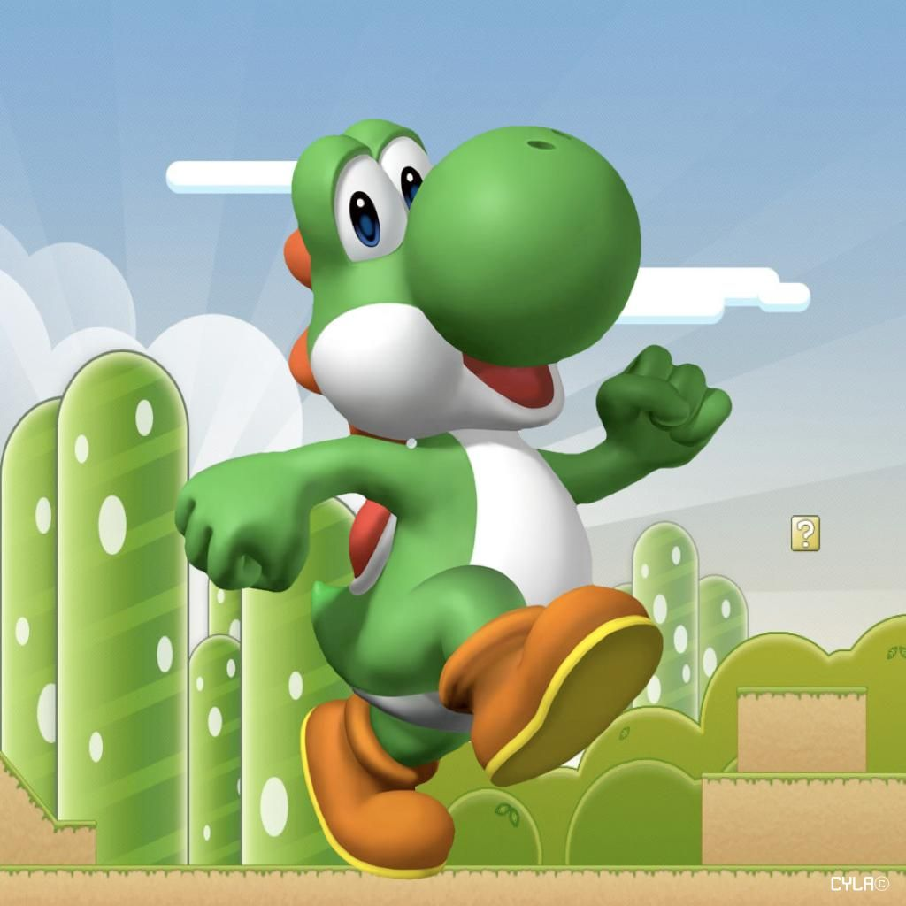Download Yoshi wallpapers Yoshis Moon 1024×1024 Yoshi Wallpapers (28 Wallpapers) | Adorable Wallpapers