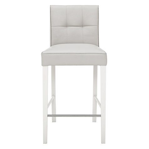 a345e3b8032 Buy John Lewis Simone Leather Bar Chair Online at johnlewis.com