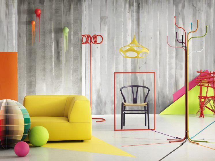 Color Interior Design splashes of colour in white interiors | interior design ideas