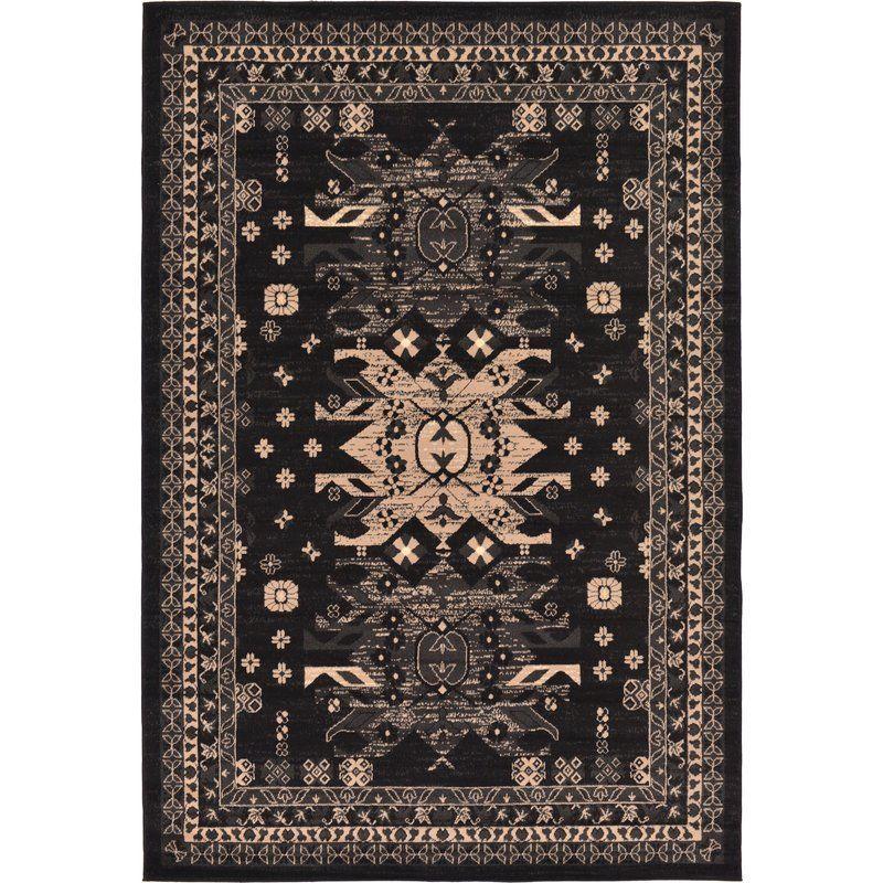 Mattea Southwestern Black Area Rug Black area rugs, Area