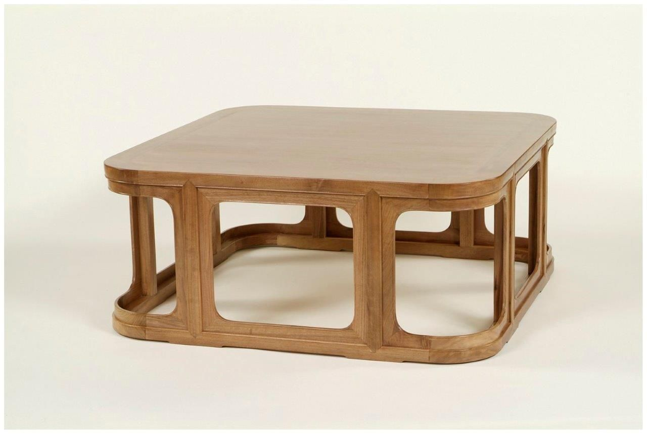 Perfect Solid Wood, Square Cocktail Table With Rounded Corners. Wharton Hunt Can  Build This For
