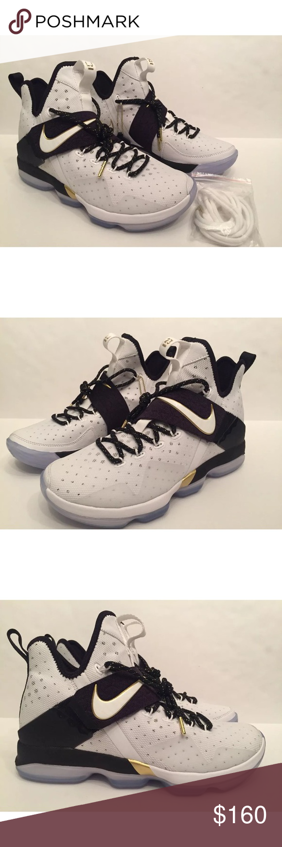 b766d00353620 NEW Nike Lebron 14 BHM 100% Authentic! Size 9.5 NEW (NEVER WORN ...