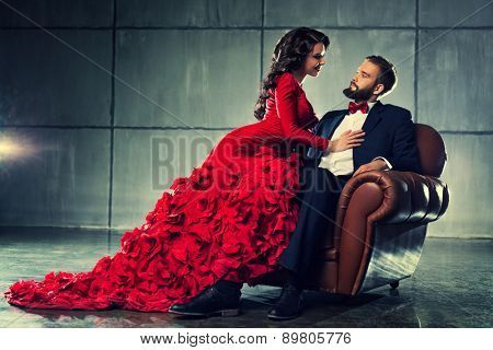 Stock Photo By Chaoss -   17 christmas photoshoot couples black ideas