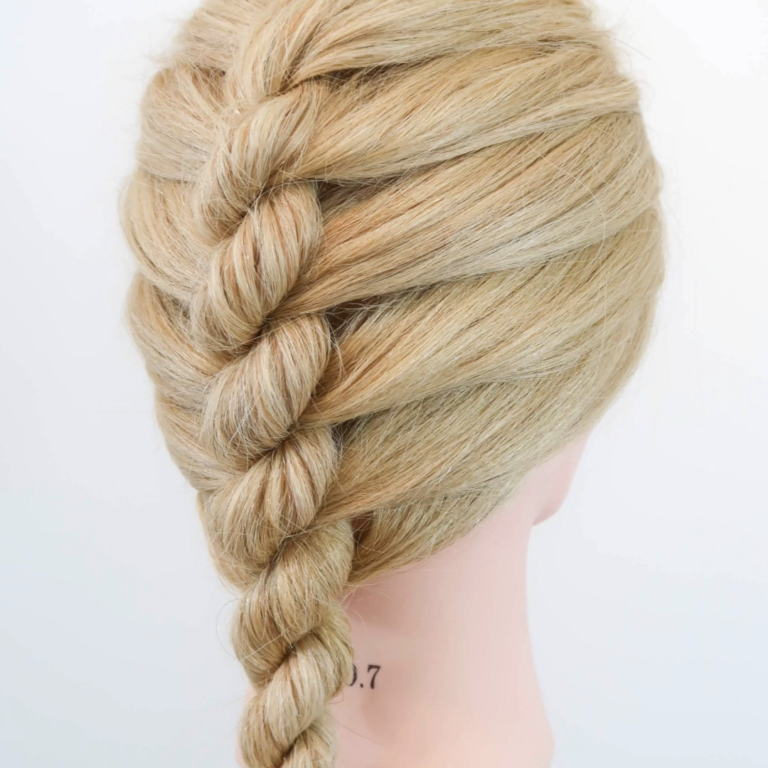 Single French Rope Braid - Click here for the full