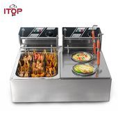 #8L #boiler #Bubble waffles pizza #Commercial #Cooking #Electric #ITOP #machine #Oden #Pasta #stainless #steel ITOP Commercial electric Pasta boiler