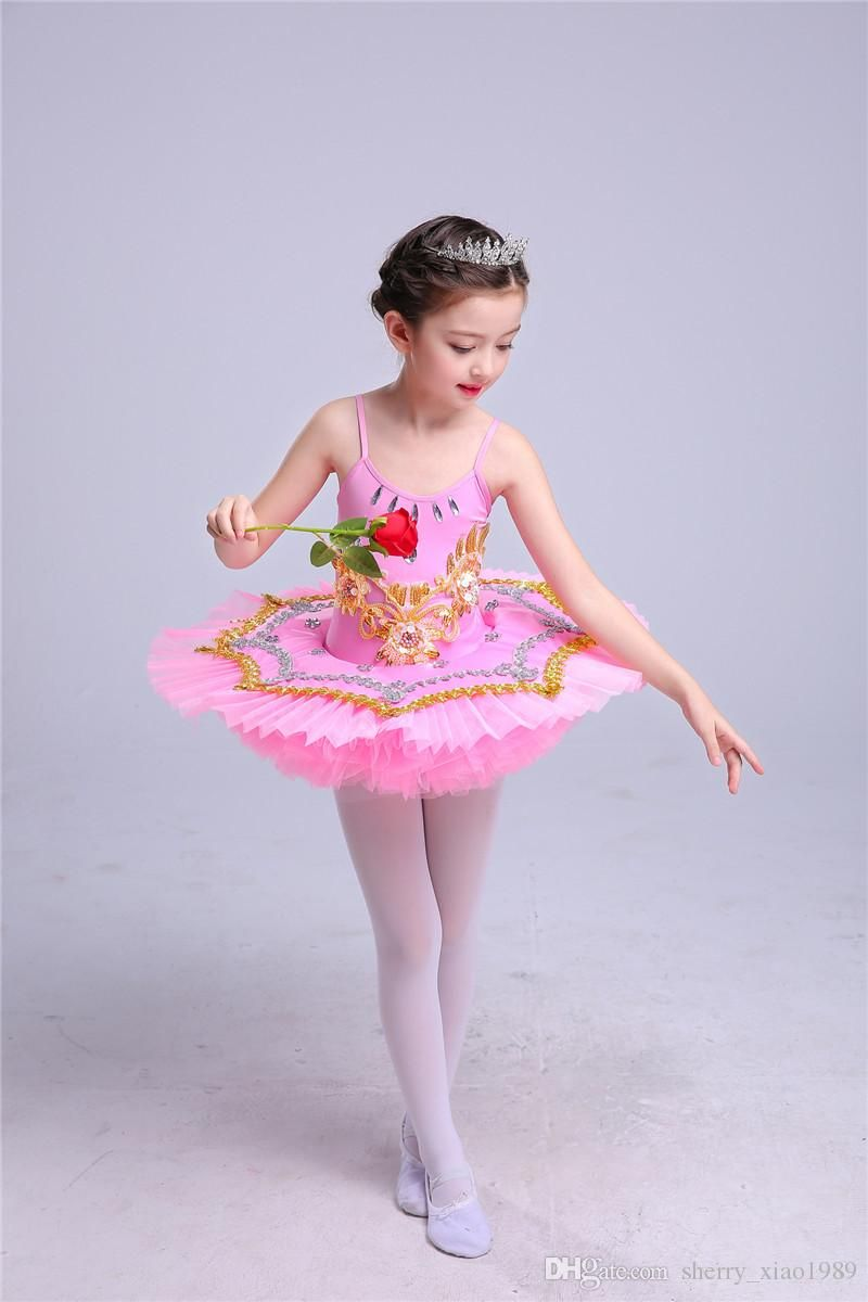 c051e0ed7 Professional Swan Lake Ballet Tutu Costume Girls Children Ballerina ...