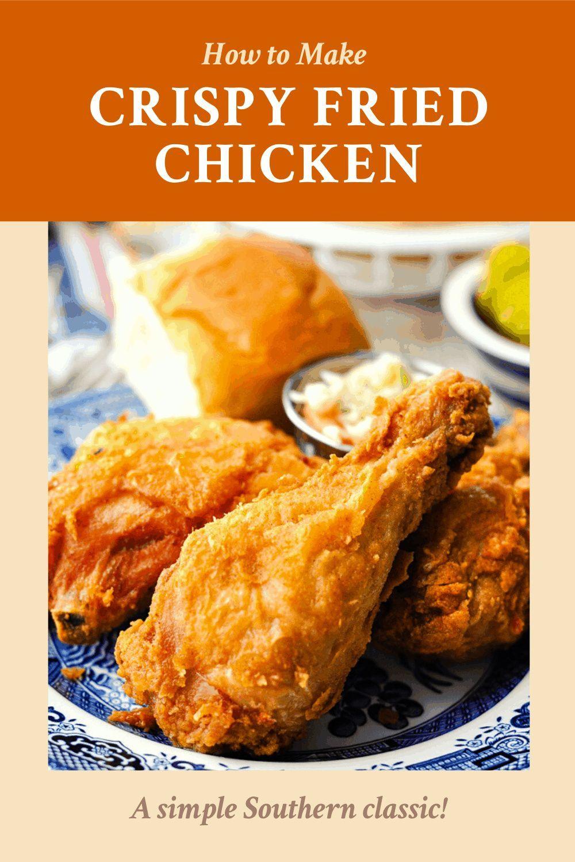Crispy Fried Chicken Recipe Recipe In 2020 Fried Chicken Chicken Recipes Chicken Recipes At Home