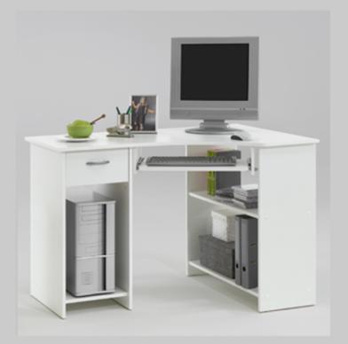 Small White Corner Desk White Computer Desk Corner Computer