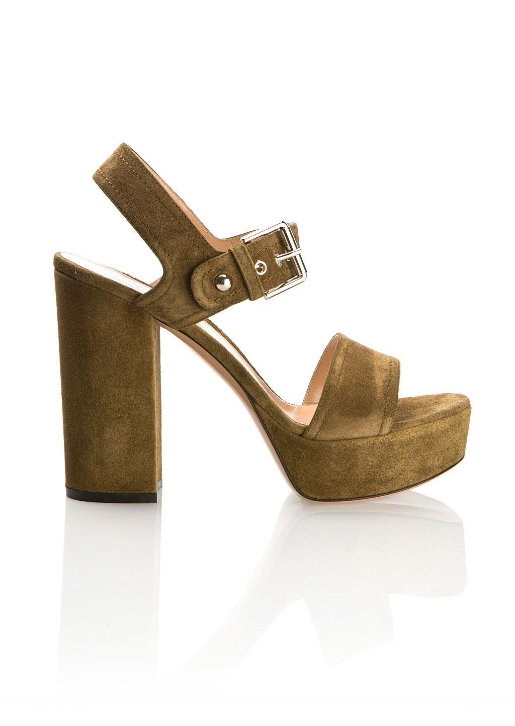 429eb1caf67a GIANVITO ROSSI Gianvito Rossi Marais Color Velvet Gina Platform Sandals.   gianvitorossi  shoes