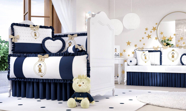 Vem Se Apaixonar Pelo Quarto De Beb Urso Teddy Realeza A  ~ Quarto De Bebe Masculino Principe