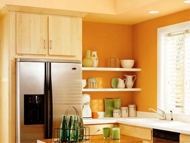 Paint Colors For Best Small Kitchens