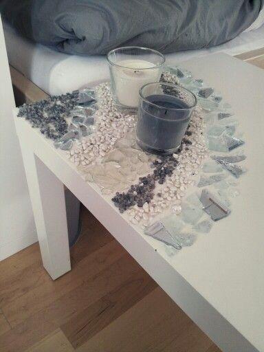 Tisch Mit Mosaikfliesen.Pin Von е Cassia Auf Piccs Mosaiktisch Mosaik Und Diy Tisch