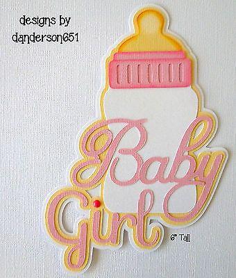 Niña Bebé juntar las piezas de papel prefabricados dado corta fronteras Scrapbook álbumes Danderson 651