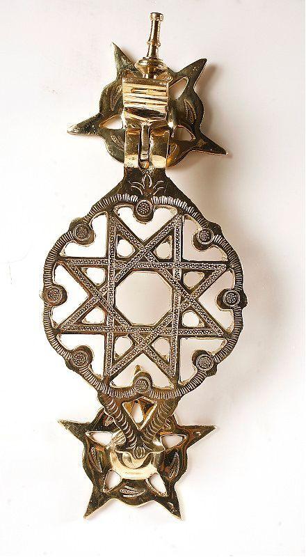 Imperial Moroccan star door knocker  sc 1 st  Pinterest & Imperial Moroccan star door knocker | Doors (u0026 Windows) | Pinterest