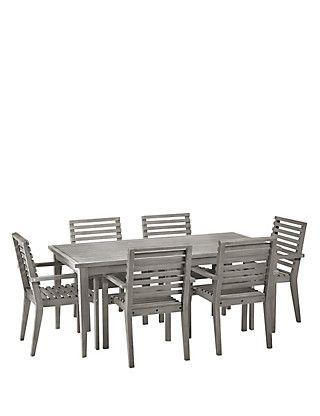 Bon Melrose Table U0026 6 Chairs | Mu0026S