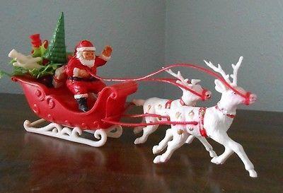 Santa Christmas Music Box Snow Globe Jingle Bells 12 00 Vintage Christmas Ornaments Christmas Decorations Uk Christmas Musical