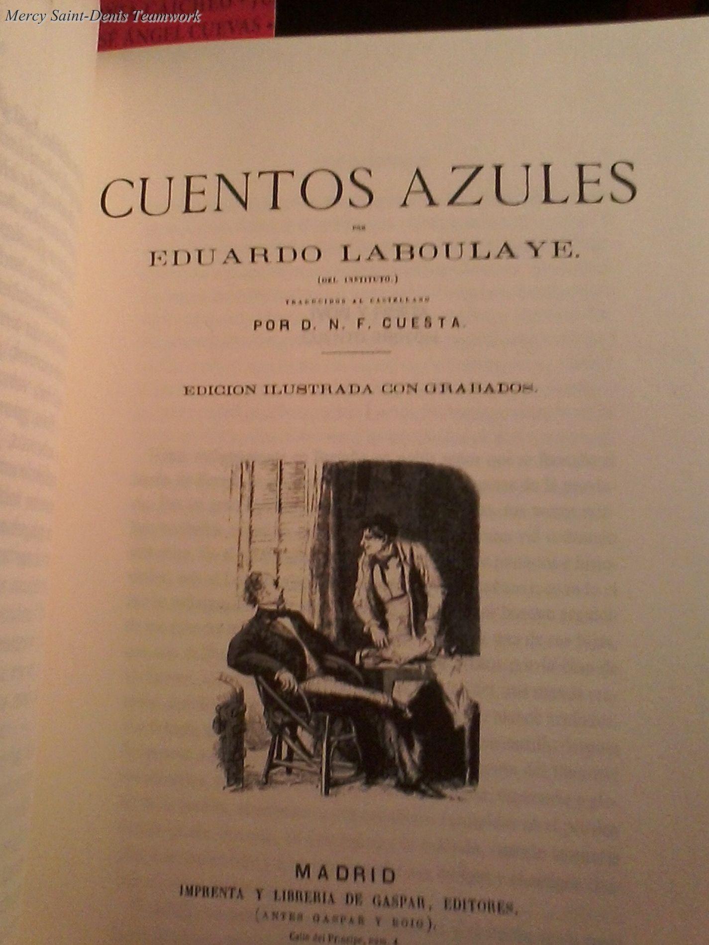 Cuentos Azules - Eduardo Laboulaye.