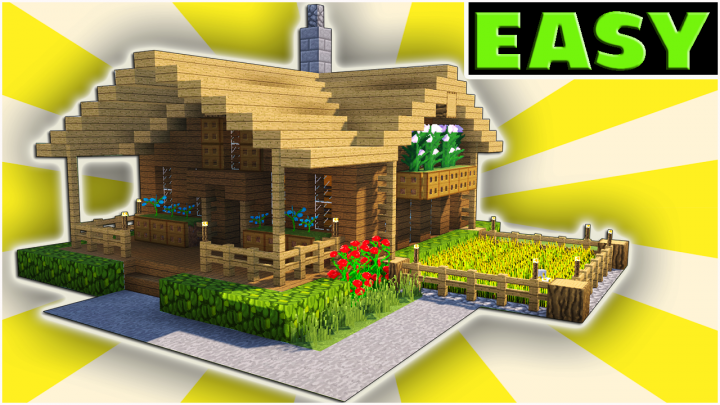 Minecraft starter house tutorial easy how to build  in project also rh ar pinterest