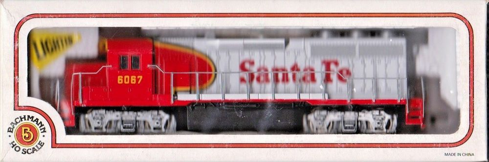 Bachmann 63502 Ho Scale Santa Fe Emd Gp 40 Diesel Locomotive 6067 Bachmann Ho Scale Diesel Locomotive Santa Fe