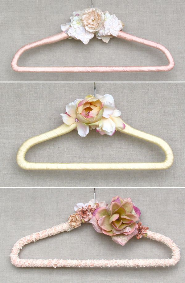Posh Wedding Day Elegant Handmade Hangers For Brides And