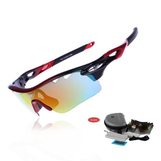 c22d7e17ad1a Spiderwire-Fletcher Polarized Fishing Sunglasses, Black with Orange Lenses  - Walmart.com