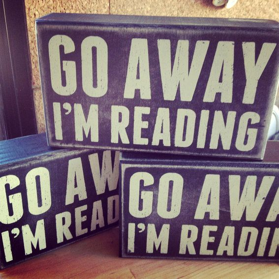 Go Away I M Reading Book Lovers Gifts Book Lovers Library Store