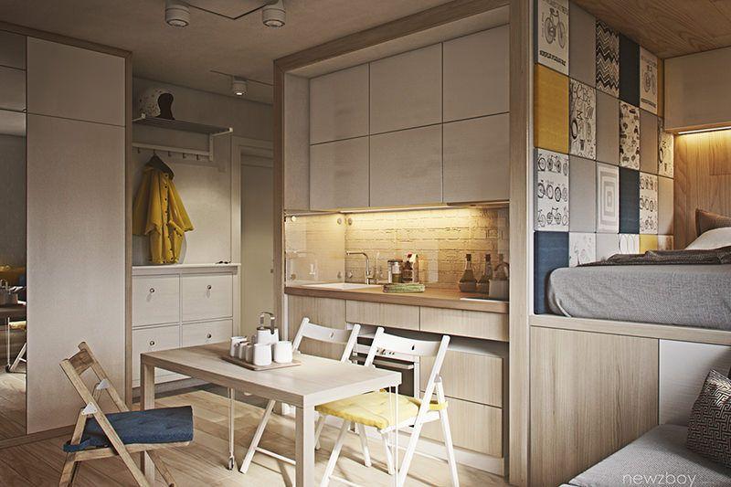 Casas Super Pequenas 3 Imoveis Com Menos De 40 Metros Quadrados - Casas-super-pequeas