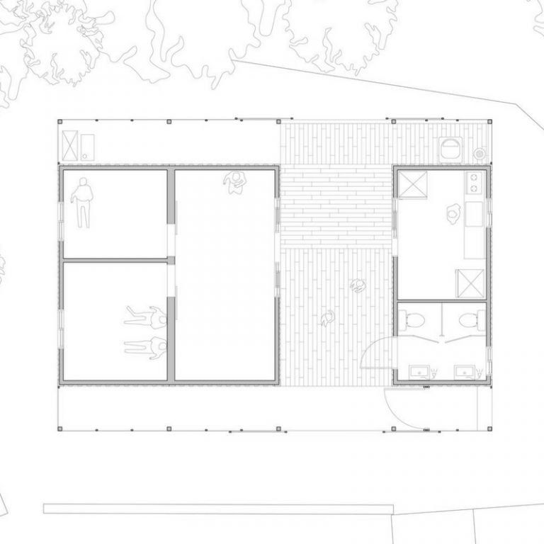 Container House, Building A