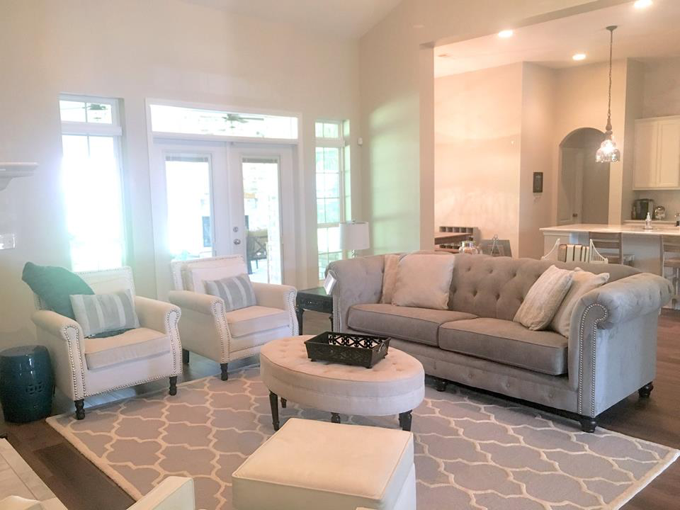 This Customer Paired The Tiarella Sofa With A Few Of Her Existing