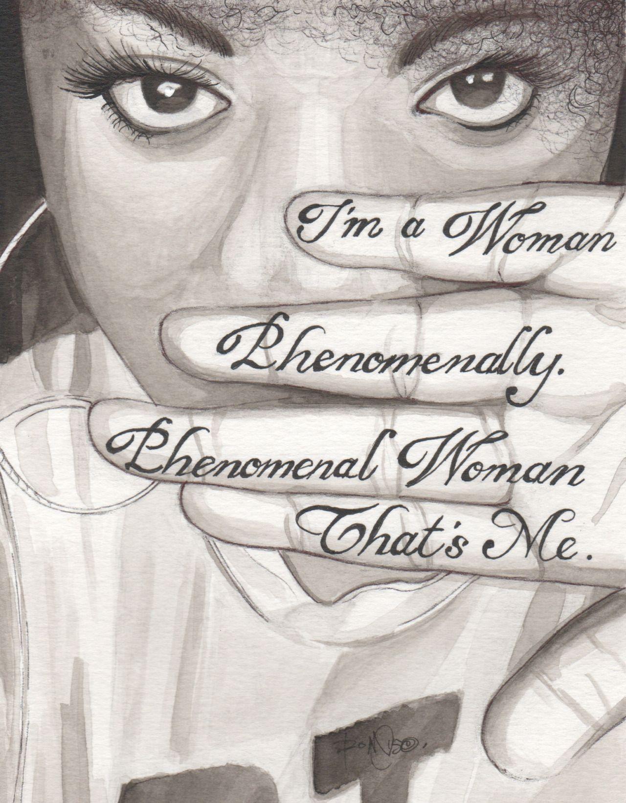 Girl Power Tattoo Quotes 480 Single Phase Transformer Wiring Diagram Phenomanal Woman By Maya Angelou Tumblr Kulorbandit