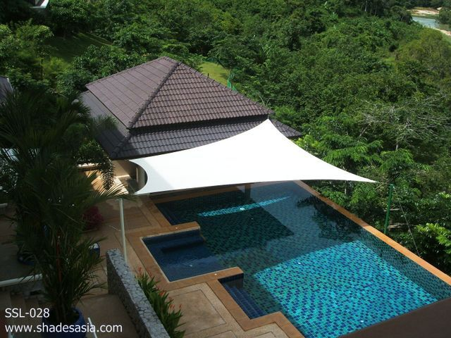 Shades Thailand Designs And Manufactures Sail Custom Awnings Blinds Fabric Structures For