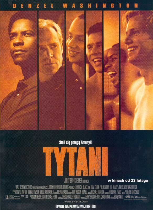 Poster Vspominaya Titanov Remember The Titans Remember The Titans Movie Movies Online