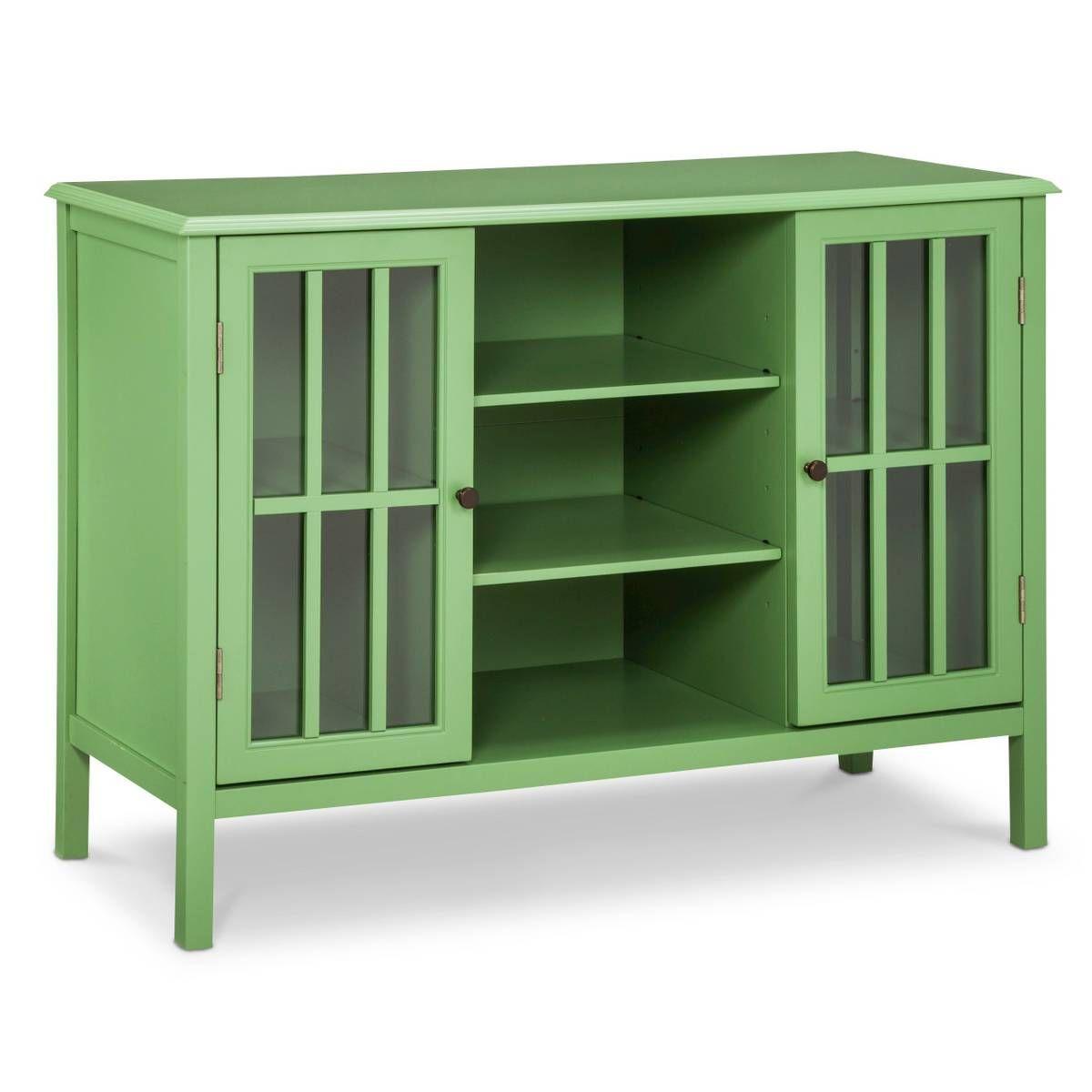 $178.49 Sale Reg: $209.99 Windham 2 Door Cabinet With Shelves   Threshold™  In Green