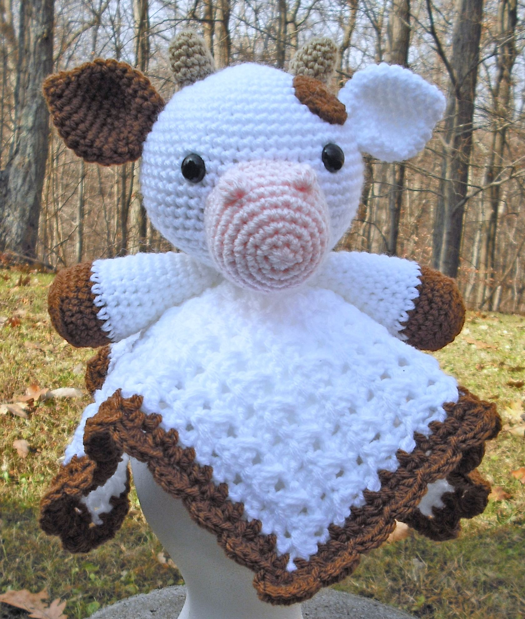 Cow lovey - pattern from \